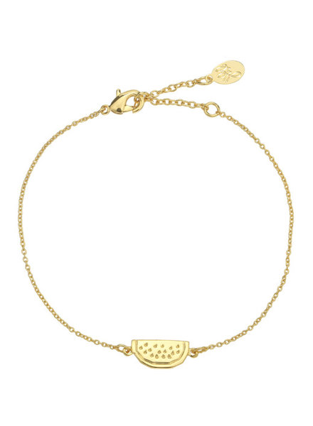WATERMELON BRACELET GOLD