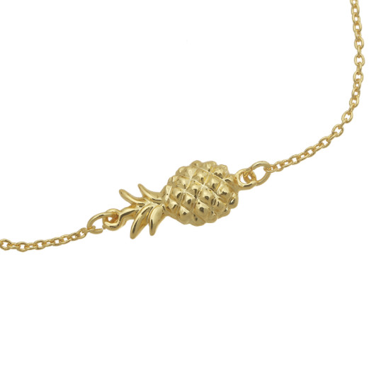 PINEAPPLE BRACELET GOLD