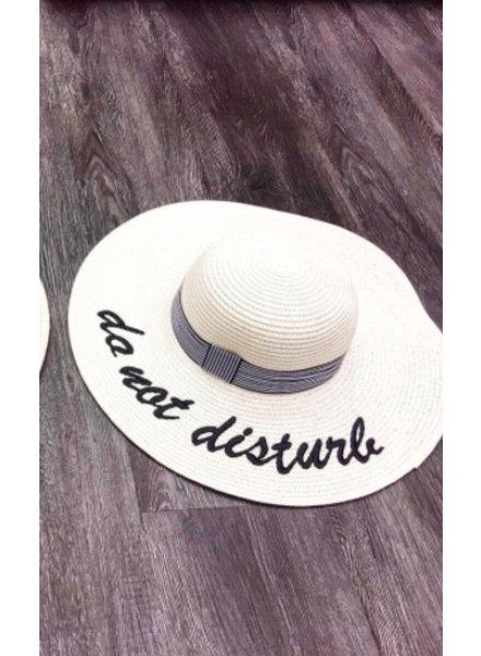 DO NOT DISTURB HAT