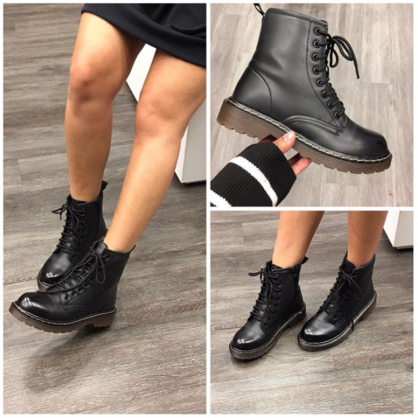 "THE ""M""BOOTS BLACK"