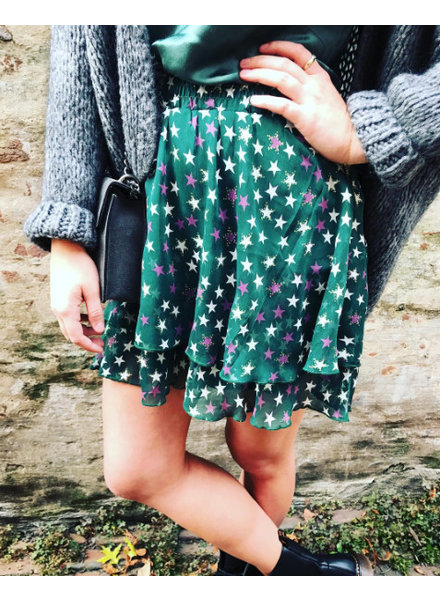 GREEN STAR SKIRT