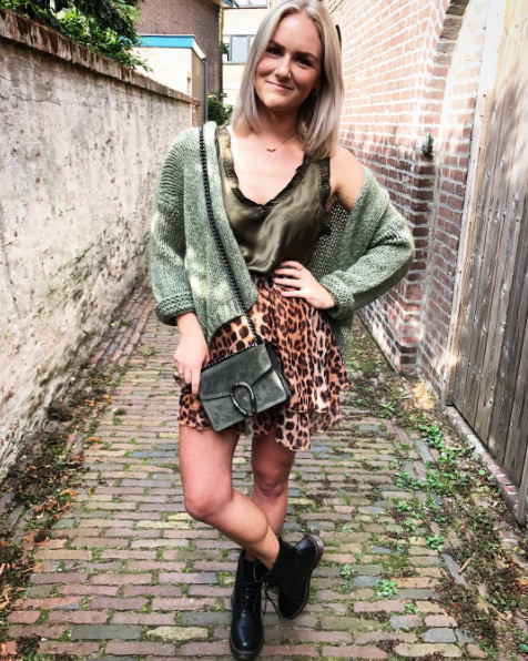 FALL ARMY TOP