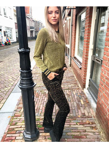 GLITTER GOLD SWEATER