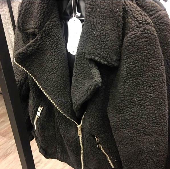 TEDDY BLACK COAT