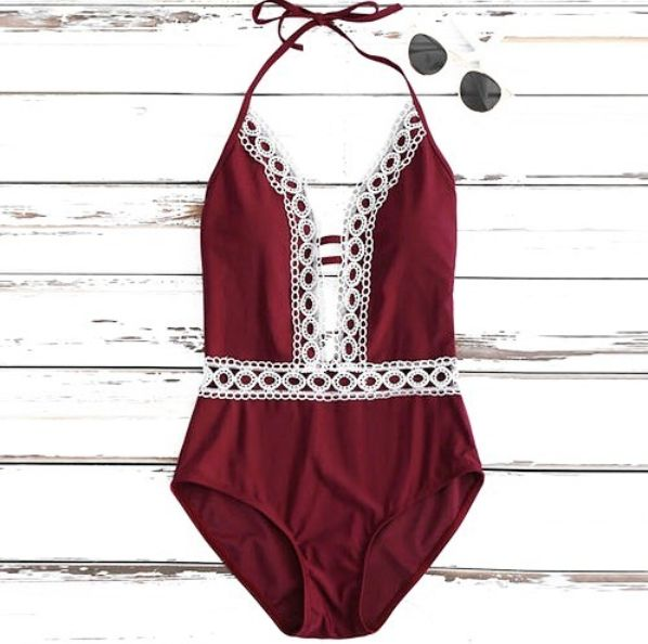 RED SUMMER SWIMSUIT