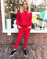 COMFY SUIT RED