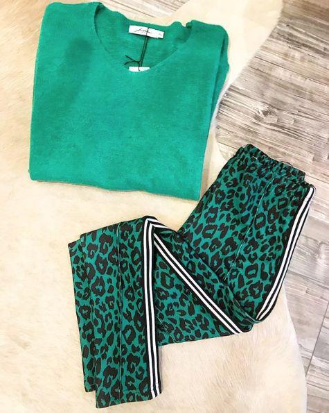LEO GREEN PANTS