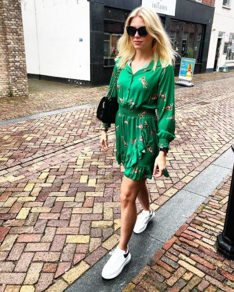 LEO GREEN DRESS