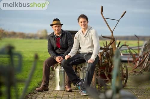Vader en Zoon Zantinge eigenaren Melkbusshop