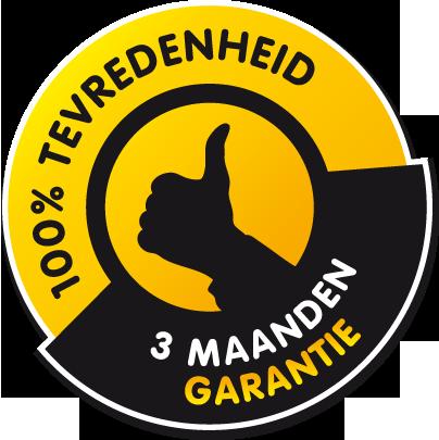 3 maanden garantie op melkbussen €49,50 excl. BTW