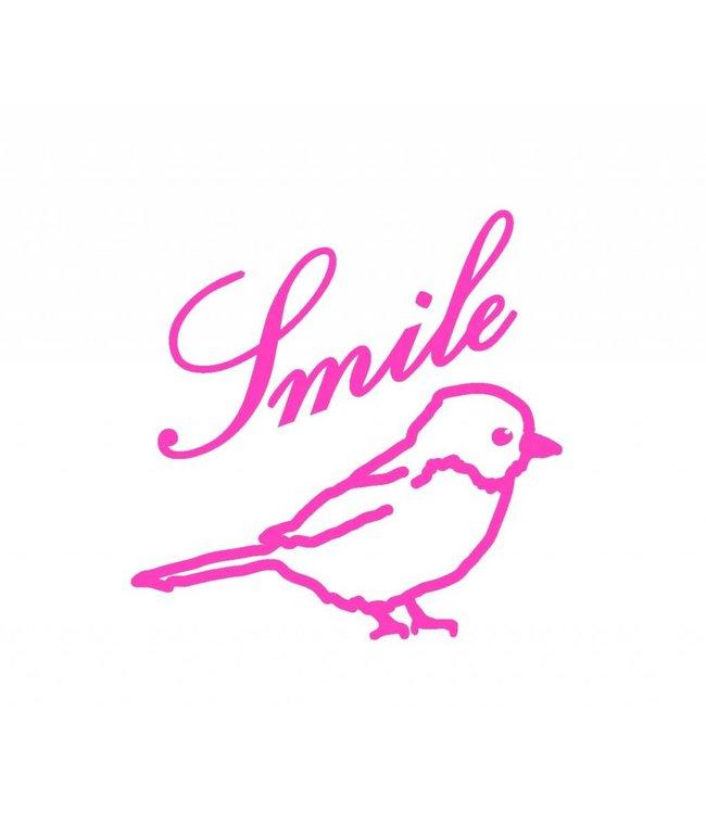 Mimi-lou Muursticker - Small - Smile