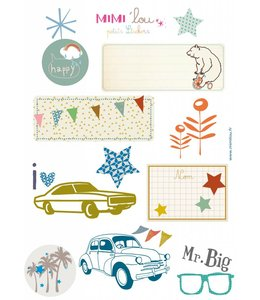 Mimi-lou Stickers - Auto