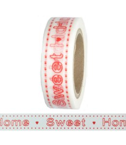 StudioZomooi Home sweet home tape - rood