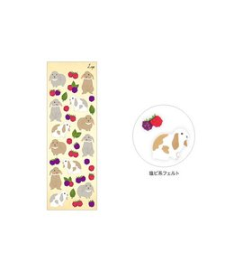 Midori Japan Stickertjes - Konijn