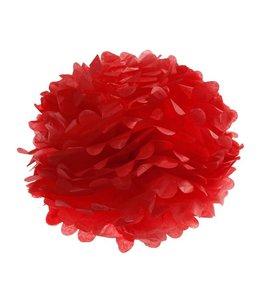 Sass & Belle Pompom 33cm - rood