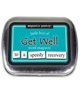 Magnetic Poetry Little Box Get Well