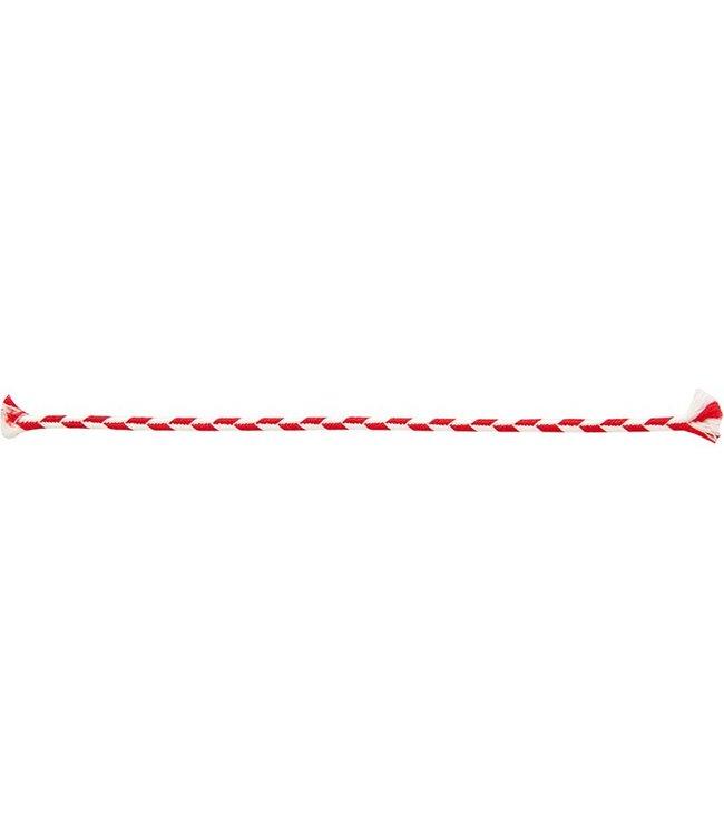 Rico Design Koord rood/wit