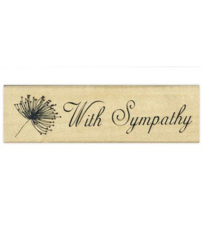 StudioZomooi stempel with sympathy