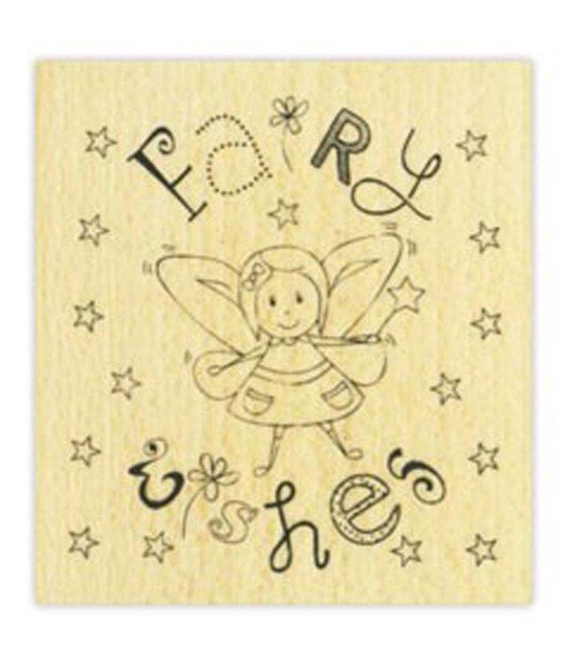 StudioZomooi stempel Fairy wishes