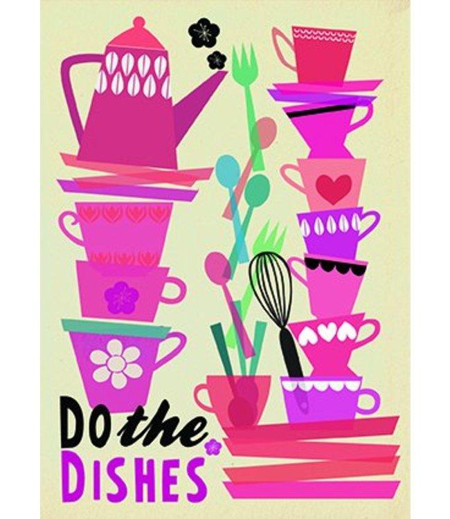 Elisandra Postkaart - Do the Dishes