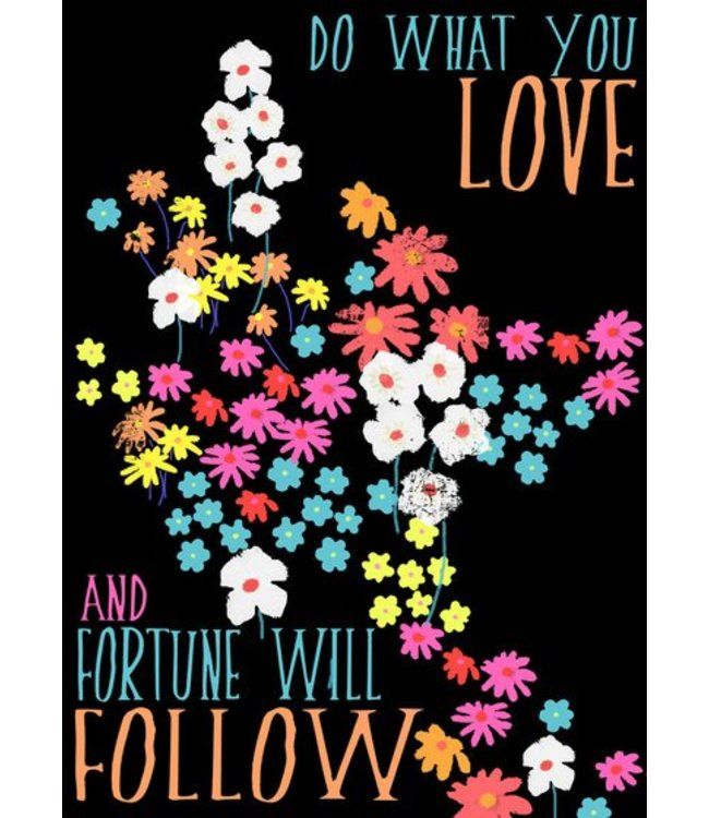 Elisandra Postkaart - do what you love