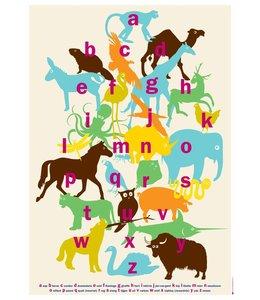 de Beeldvink Poster - Van aap tot olifant