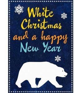 de Beeldvink Postkaart - ijsbeer