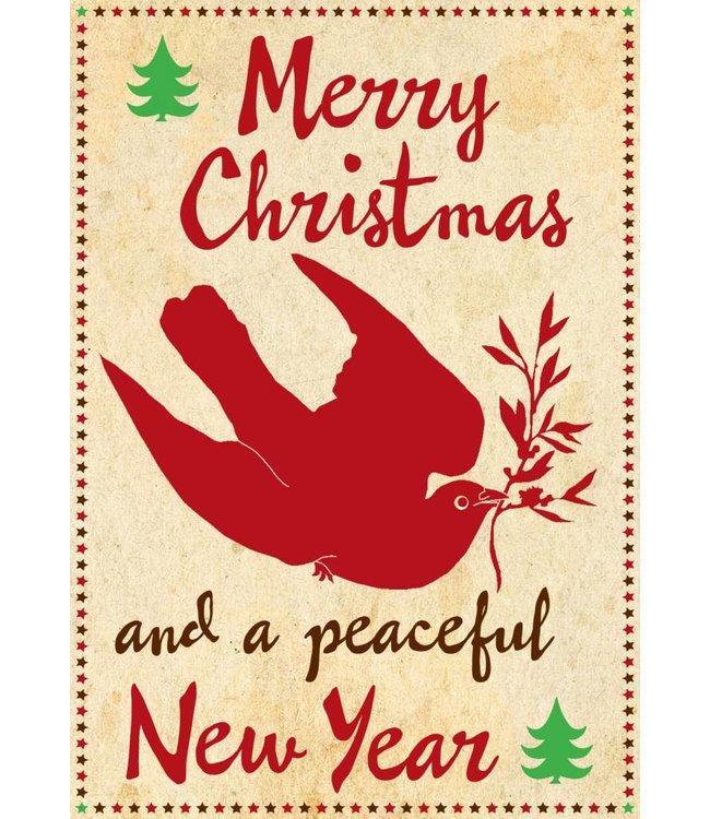 de Beeldvink Postkaart - duif