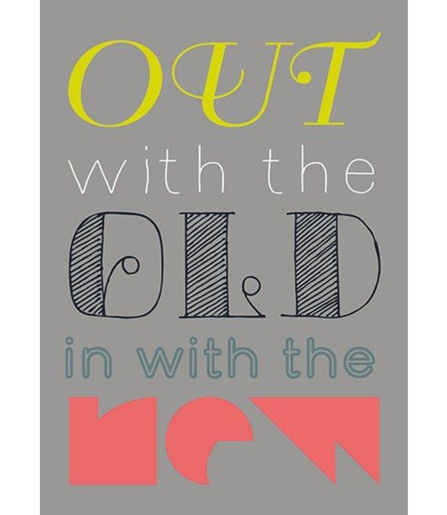 Bl-ij Postkaart - old-new