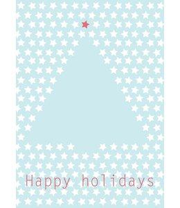 Bl-ij Postkaart - kerstboom