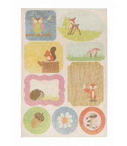 Sass & Belle Stickers woodland