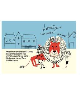 Shinzi Katoh Kaart - Lonely Lion