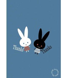 Shinzi Katoh Kaart - thanks