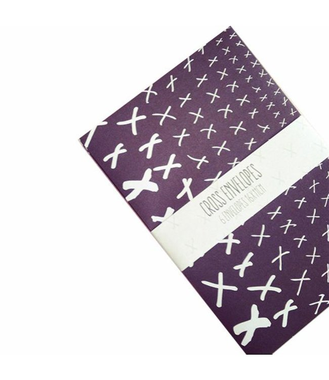 Bl-ij Enveloppen set - cross