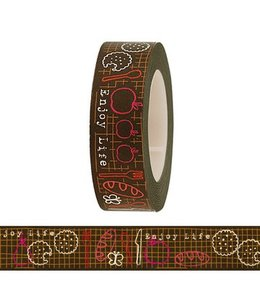 Rico Design Masking tape - enjoy live