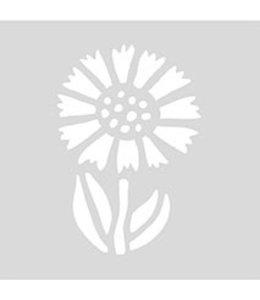 Rico Design Herbruikbaar sjabloon 7,5cm - korenbloem