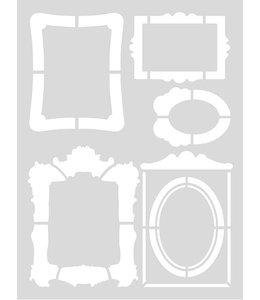 Rico Design Herbruikbaar sjabloon A4 - kaders