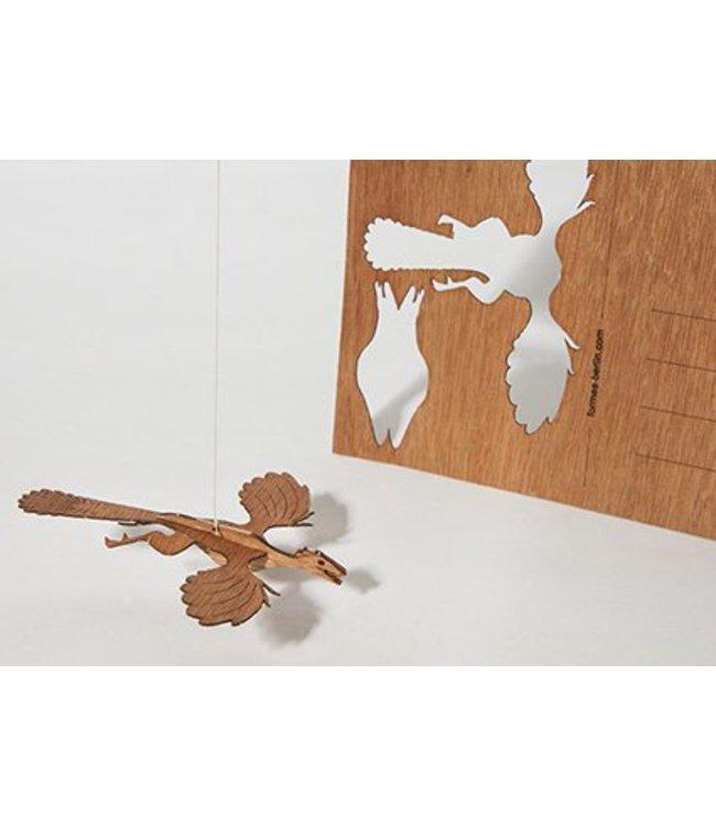 formes Berlin Cederhout kaart - Archeopteryx