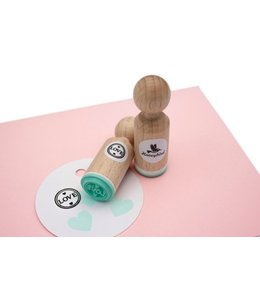 Miss Honeybird Mini stempel Love