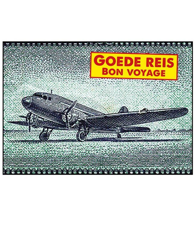 de Beeldvink Postkaart - Bon Voyage
