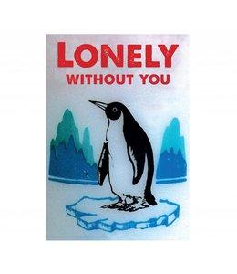 de Beeldvink Postkaart - Lonely
