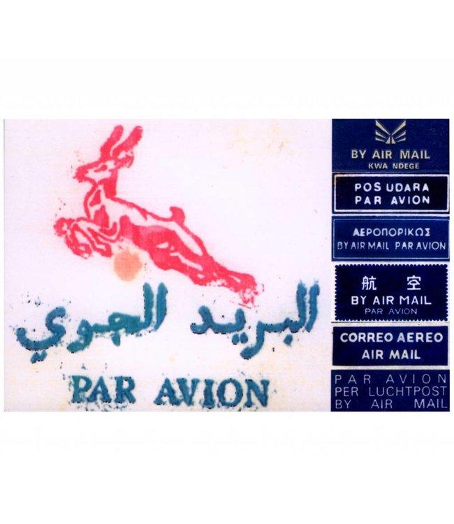 de Beeldvink Postkaart - Grafische rariteiten Algerije