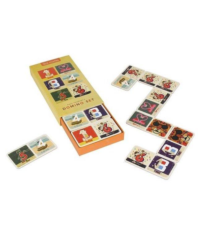 Wild and Wolf Retro domino spel