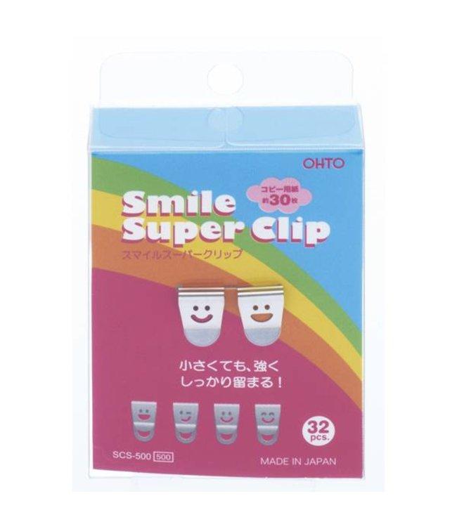 Smile clips zilver