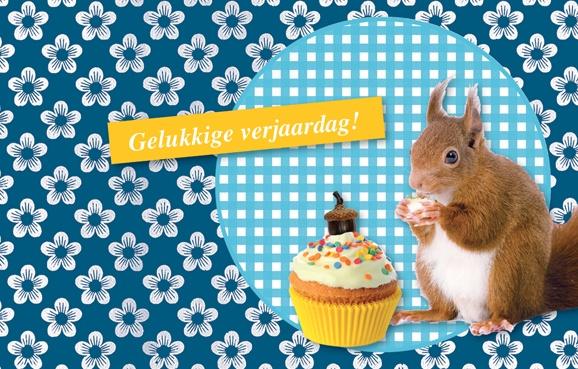 Afbeeldingsresultaat voor verjaardag eekhoorn