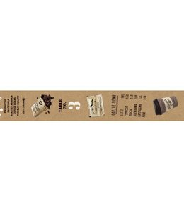 Maste Washi Tape 2cm - Espresso guide