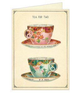 Cavallini & Co Kaart - Tea for two