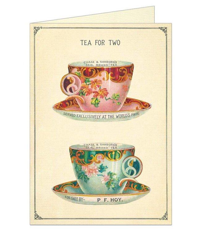 Cavallini & Co Kaart - Tea for two