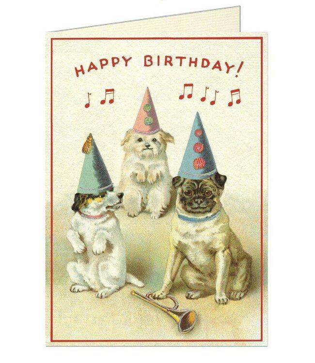 Cavallini & Co Kaart - Dogs Birthday