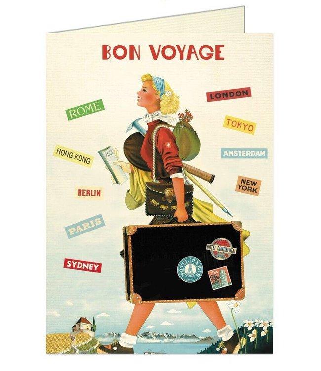 Cavallini & Co Kaart - Bon Voyage